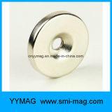 Starker Neodym-Senker-Ring-Magnet mit Schrauben-Loch