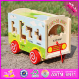 Игрушка W05b156 тележки Aniaml 2016 оптовых детей деревянная