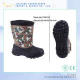 Ботинок снежка зимы ЕВА женщин, ботинок Camo напольный