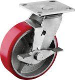 Chasses lourdes de plaque avec des roues de fer d'unité centrale