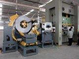 Alimentador automático da folha da bobina com uso do Straightener na linha da imprensa e no molde do automóvel