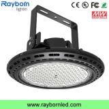 Luz elevada do louro do diodo emissor de luz do UFO do preço de fábrica AC85-277V 130lm/W 250W