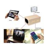 Самый новый деревянный многофункциональный диктор Qi стандартный беспроволочный поручая Bluetooth