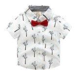 Van jonge geitjes van de Jongen van de Overhemden de Katoenen Kinderen die van het Linnen/Model 5 kleden