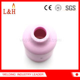 l'ugello di ceramica dell'obiettivo del gas dell'allumina 54n17 fa domanda per il cannello per saldare di TIG