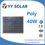 comitato solare del fornitore di alta efficienza 40W poli