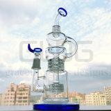 Fabbrica all'ingrosso 14 pollici - tubo di acqua di vetro alto di Klien
