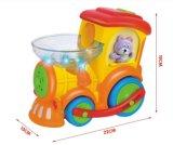 Brinquedo educacional plástico do bebê do trem do Toot dos miúdos