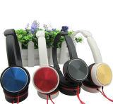 Auricular plegable de Bluetooth del Rhinestone de los auriculares plegables ligeros cristalinos del eslabón giratorio