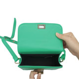 Grüne Minitote-Schulter-Beutel-Entwürfe für Gils Ansammlungen