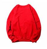 Personnaliser le T-shirt du long homme de chemise de broderie de Sequin de coton de qualité du collet rond