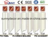 Cornisa de la PU del fabricante del poliuretano del techo de China que moldea que moldea para el diseño del techo