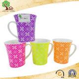 12 Oz Shiny Candy Color New Bone China Ceramic Cup