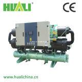 Double refroidisseur d'eau industrielle refroidi à l'eau avec compresseur double