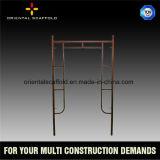 Bâti mobile modulaire d'échafaudage d'échelle