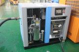 オイル自由な水給油ねじ空気圧縮機