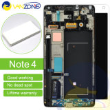 計数化装置アセンブリが付いているSamsungギャラクシーノート4 LCDのための完全なLCDスクリーンを完了しなさい