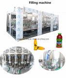 Linha de enchimento de engarrafamento do equipamento da bebida completa Turnkey da bebida do suco de fruta do projeto