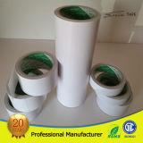 Cara doble blanca de cinta de papel