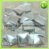 Nailheads de prata no quadrado dado forma (ECHFN002)