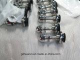 Штуцер спайдера 3-Рукояток нержавеющей стали стеклянный (HR200I-3)