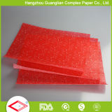 Papéis de sanduíche de papel para pergaminho impresso com alimentos seguros