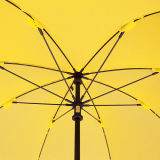 يطوي لعبة غولف يعلن مظلة مع [فيبرغلسّ] إطار/أضلاع