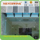 Toldo del pabellón del policarbonato de la alta calidad del uso de la ventana de la puerta de la casa