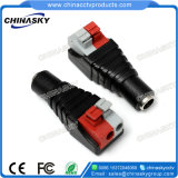 2.1*5.5mm DC Screwless 단말기 (PC109)를 가진 여성 CCTV 전원 연결 장치