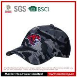 Бейсбольная кепка вышивки цвета камуфлирования сетки полиэфира Unisex