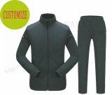 Los hombres ajustaron la ropa ocasional de los juegos de pista de Basci en chaqueta y pantalones de bombardero de los deportes