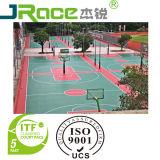 Superficie esterna di sport del rivestimento della pavimentazione del campo da pallacanestro dello Spu