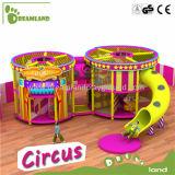 O campo de jogos interno comercial de venda quente do circo personalizou