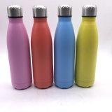 Bottiglia di acqua all'ingrosso di vendita calda di sport dell'acciaio inossidabile 2016 500ml (SH-ST17)