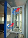 Pvc Window - het Openslaand raam van pvc met Grid