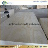 madera contrachapada comercial barata de 18m m para la decoración
