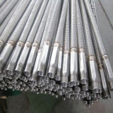 Manguito anular acanalado del metal flexible del acero inoxidable