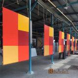 Los paneles de pared de aluminio del color hermoso con 1/8 '' espesor para la fachada de la pared