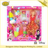 Buntes Spielzeug-verpackenkasten für Barbie-Puppe