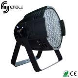 DJのディスコの段階(HL-033)のための54PCS*3watt RGBW LEDの同価ライト