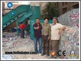 Horizontale halbautomatische emballierenmaschine für Papier/Pappe/die überschüssige Wiederverwertung