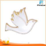 Distintivo su ordinazione di Pin del cristiano di vendita della Cina dello smalto all'ingrosso caldo del metallo