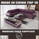 Le cuir L sofa Lz (1488-L) de meubles moderne le plus neuf de salle de séjour de forme