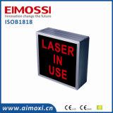 Laser in Use AVB Method Sinal de porta iluminado