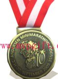 O metal ostenta a medalha com logotipo 3D (m-MM01)