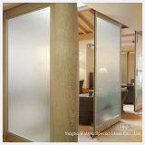 6mm Frosted/Clear Glass Wall/Partition/Glass Door