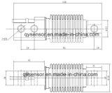 Cel van de Lading van de Schaal van de Verpakking van de Blaasbalg van de Straal van de Scheerbeurt van de Sensor van het roestvrij staal de Enige