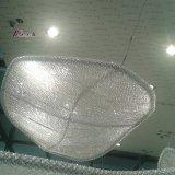 Het decoratieve Licht van de Kroonluchter van het Ontwerp van het Zeil voor het Project van het Hotel