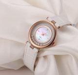 Manier het Antieke Vrouwen Horloge van Dame Watch White Shell Dial