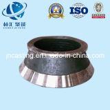 Manteau élevé de broyeur de cône d'acier de manganèse